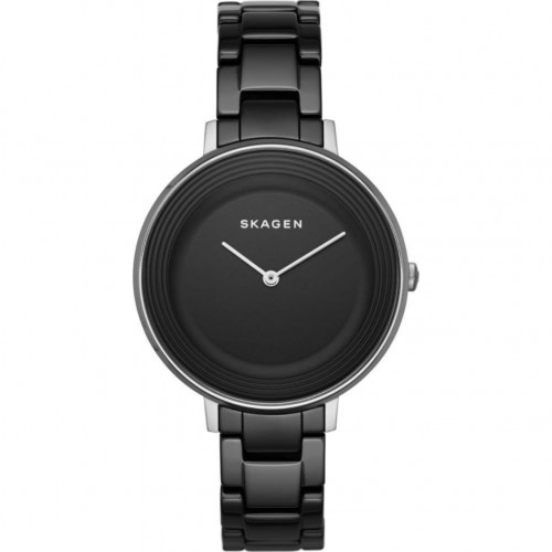 Skagen Ladies Black Ceramic Ditte Watch SKW2303
