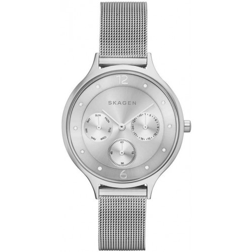 Skagen Ladies Anita Stainless Steel Silver Watch SKW2312