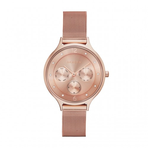 Skagen Ladies Anita Stainless Steel Rose Gold Watch SKW2314