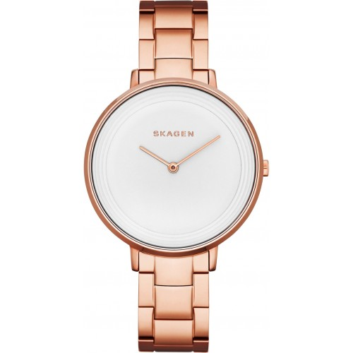 Skagen Ladies Ditte Rose Gold Watch SKW2331