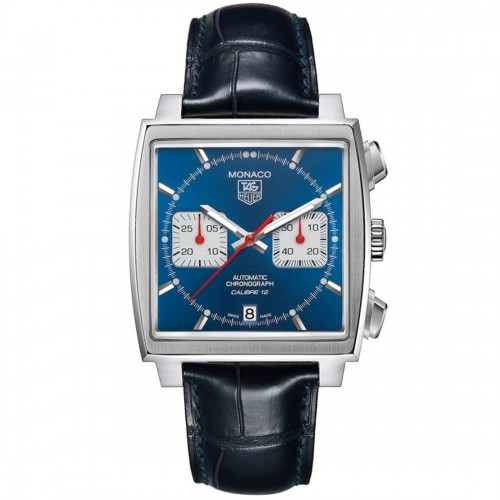 Tag Heuer TAG Heuer Monaco Calibre 12 Men's Watch CAW2111.FC6183