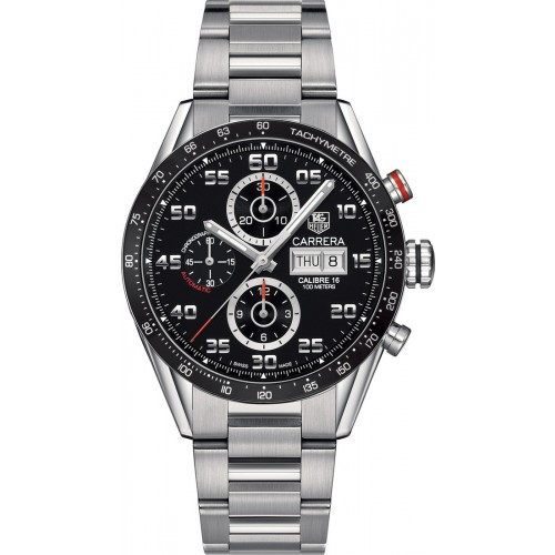 TAG HEUER CARRERA Calibre 16 Day-Date Watch CV2A1R.BA0799