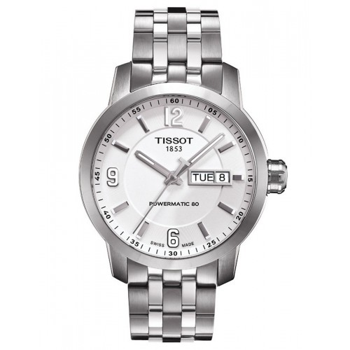 Tissot PRC 200 White Dial Stainless Steel Men's Watch T055.410.11.017.00
