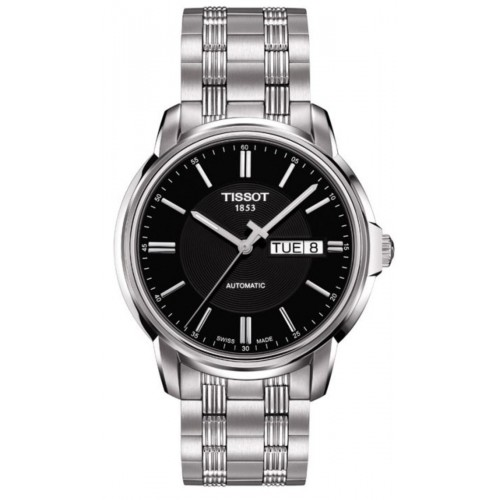Tissot Automatics III Black Dial Steel Men's Watch T065.430.11.051.00