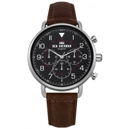 BEN SHERMAN PORTOBELLO MILITARY WATCH WB068BBR