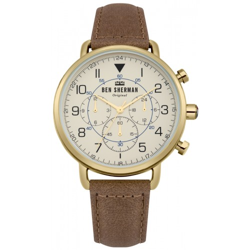 BEN SHERMAN PORTOBELLO MILITARY WATCH WB068WT