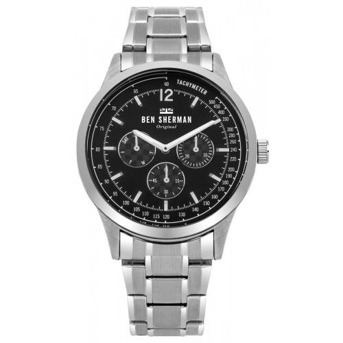 BEN SHERMAN SPITALFIELDS PROFESSIONAL MULTI-FUNCTION WATCH WB073BSM