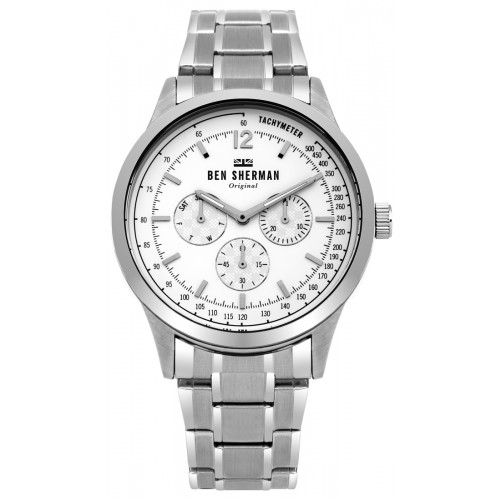 BEN SHERMAN SPITALFIELDS PROFESSIONAL MULTI-FUNCTION WATCH WB073SM