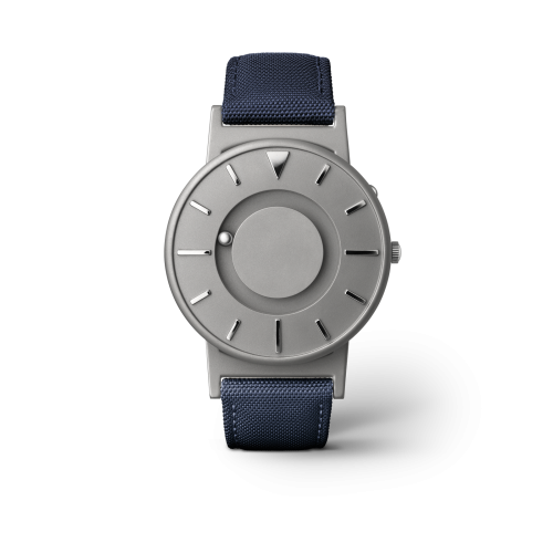 """Unisex Eone The Bradley Canvas Blue Strap Titanium Watch BR-C-BLUE """