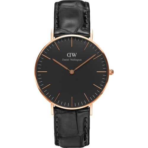 Unisex Daniel Wellington Classic Black Reading Watch 36mm Watch DW00100141