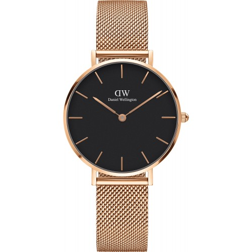 Daniel Wellington Ladies Rose Gold Classic Petite Melrose Watch DW00100161