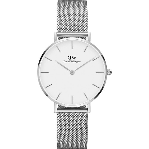 Daniel Wellington Ladies Silver Classic Petite Sterling Watch DW00100164