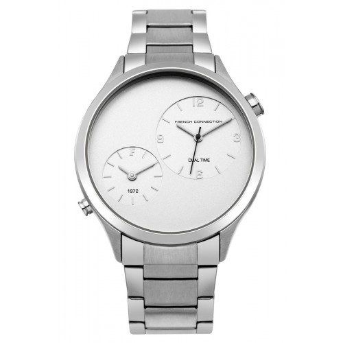 French Connection Mens Stainless Steel Silver Watch FC1284SM