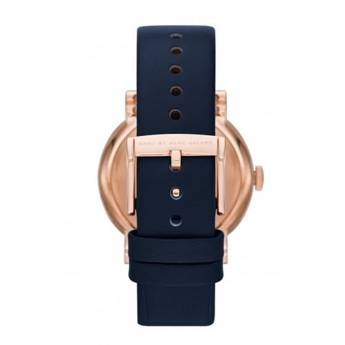 Marc Jacobs MBM1329 Baker Blue Leather Watch Strap