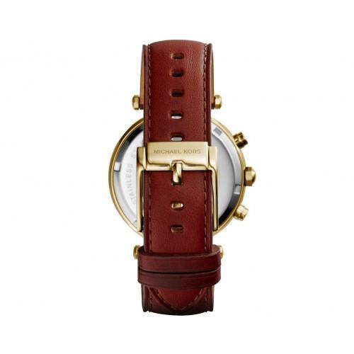 Michael Kors MK2249 Brown Parker Leather Watch Strap/Bracelet