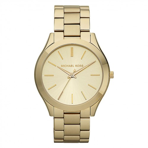 Michael Kors Ladies Gold Runway Watch MK3179