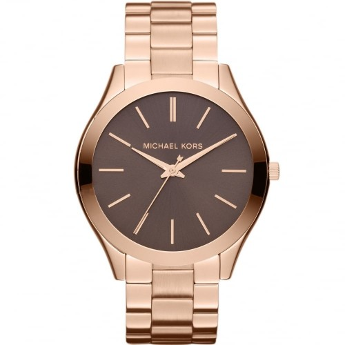 Michael Kors Ladies Rose Gold Runway Watch MK3181