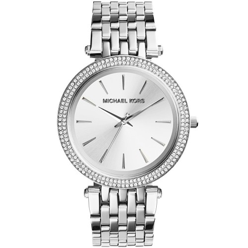 Michael Kors Ladies silver Darci Watch MK3190