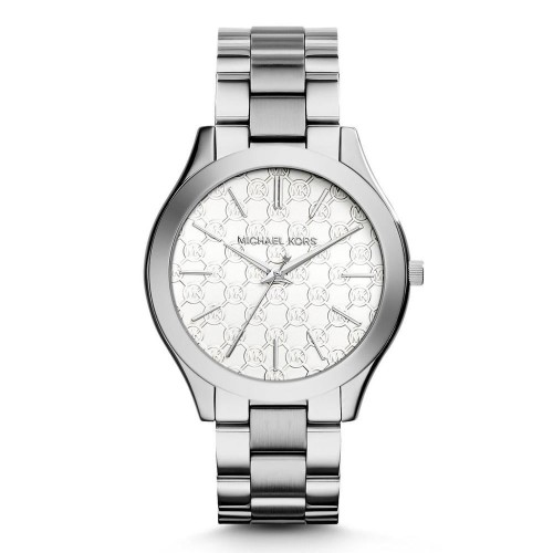 Michael Kors Ladies Silver Runway Watch MK3371