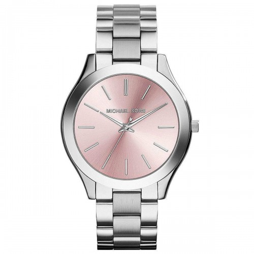 Michael Kors Ladies Silver Runway Watch MK3380
