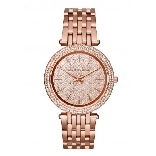 Michael Kors Ladies Rose Gold Darci Watch MK3399