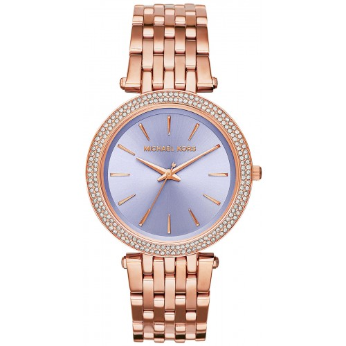 Michael Kors Ladies Rose Gold Darci Watch MK3400