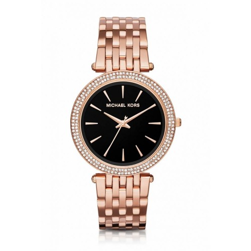 Michael Kors Ladies Rose Gold Darci Watch MK3402