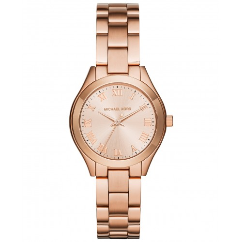 Michael Kors Slim Runway Rose Gold Watch MK3457