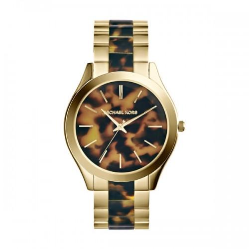 Michael Kors Ladies Gold Runway Watch MK4284