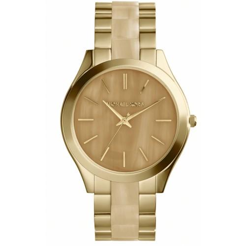 Michael Kors Ladies Gold Runway Watch MK4285