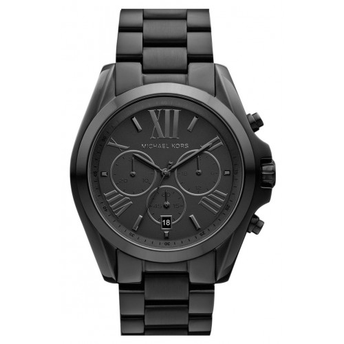 Michael Kors Unisex Black Bradshaw Chronograph watch MK5550