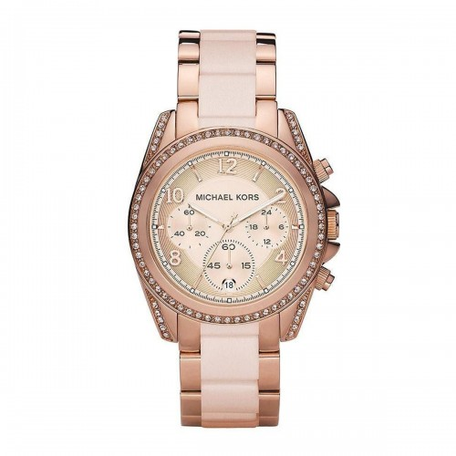 Michael Kors Ladies Rose Gold Blair Watch MK5943