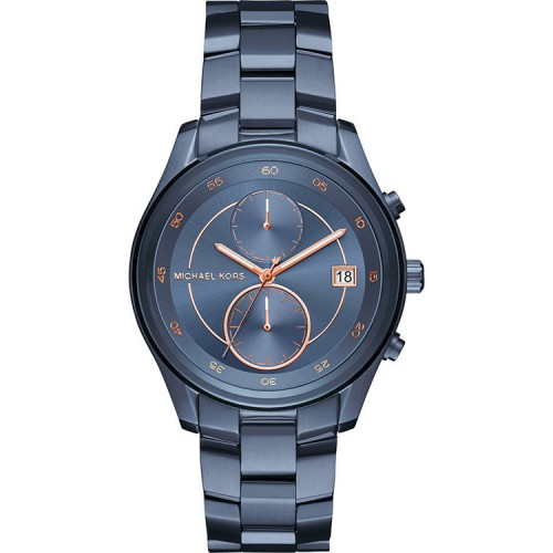 Michael Kors Ladies Blue Steel Briar Watch MK6468