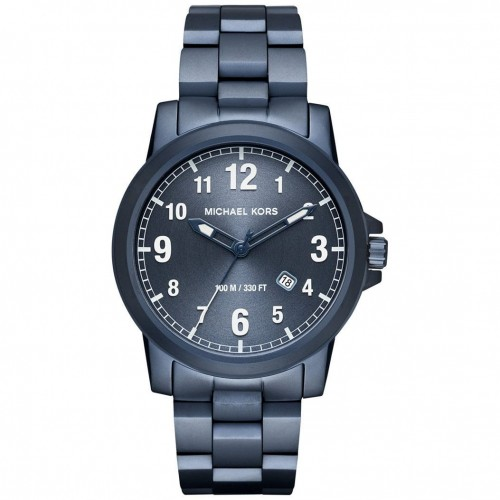 Michael Kors Mens Blue Stainless Steel Watch MK8533